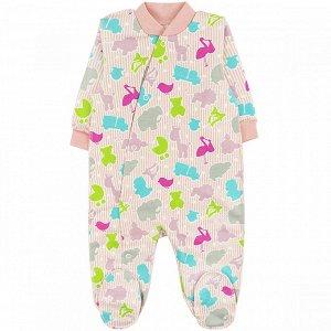 Комбинезон футер 0120300601 для новорожденного