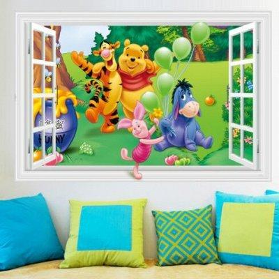 Мир Интерьера - Добавь Яркости В Декор 🧚♀️ — Интерьерные наклейки в детскую комнату — Интерьерные наклейки