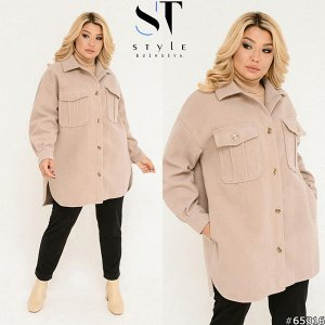 Пальто-рубашка 65316
