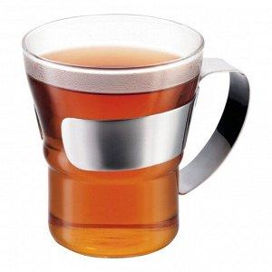 Набор кружек кофейных Assam 0.3 л. 2 шт. хром