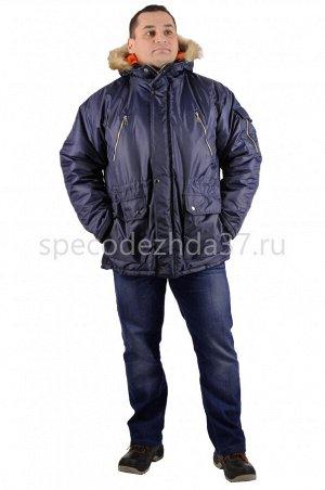 """Куртка рабочая зимняя """"Колорадо"""" цв.тёмно-синий тк.оксфорд"""