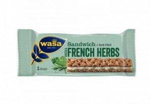 Хлебцы WASA ржаной сандвич с начинкой из сыра и пряностей