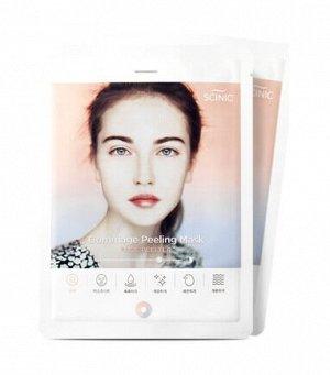 Тканевая маска-гоммаж с эффектом пилинга