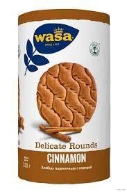 Хлебцы WASA круглые пшеничные с корицей