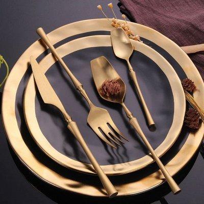Красивая сервировка стола, пробуждает аппетит! — Столовые приборы — Столовые приборы