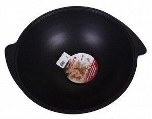 """Казан 9,0л Казан для плова """"Kukmara"""" - подходящая посуда для самых разнообразных блюд. С его помощью вы получите превосходный результат при приготовлении плова, жарке мяса или курицы, тушении овощей."""