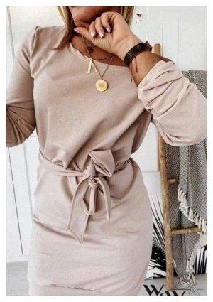 Платье Ткань трикотаж Длина 88-90см Платье идет без ремня!