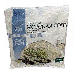 ГРИН ПРОМ Грин Пром Соль Морская Природная с Микроэлементами пакет полиэтиленовый 1 кг
