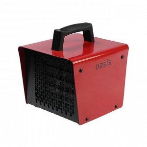 Тепловая пушка Oasis TPK-20, электрическая, 220 В, 1000/2000 Вт, 150 м3/ч, до 20 м2, IP20