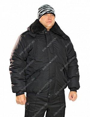 Куртка Охранник тк.Дюспа цв.Чёрный