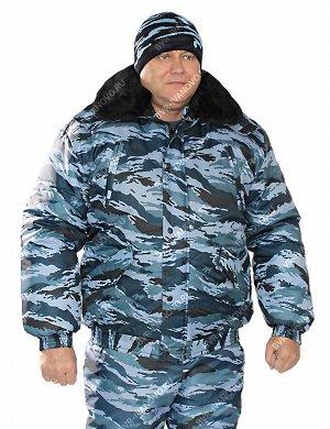 Куртка Охранник тк.Оксфорд цв.Серый Камыш
