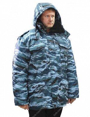 Куртка Зима тк.Оксфорд цв.Серый Камыш