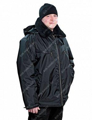 Куртка Пилот на синтепоне тк.Оксфорд цв.Чёрный