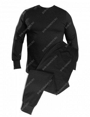 Белье нательное тк.Футер с начёсом цв.Чёрный