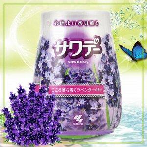 Освежитель воздуха для туалета «Sawaday – аромат белой и лиловой лаванды»
