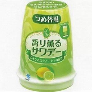 Освежитель воздуха для туалета «Lemon», 140 г, смен.уп.