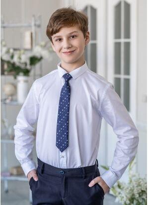 """Стильный галстук с дизайном """"футбольный мяч"""" Бекхэм 30 см"""