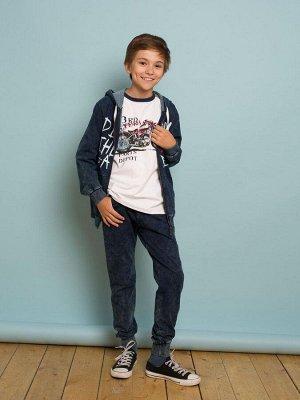 Комплект трикотажный для мальчиков: толстовка, брюки р-р 158