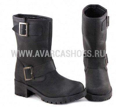Обувь made in Spain. Удобная и практичная — Женская. Сапоги — Кожаные