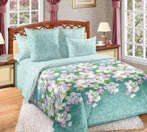 Постельное белье - Перкаль Яблоня в цвету