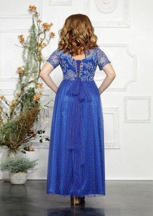 Платье Платье Mira Fashion 4827-2  Состав: ПЭ-98%; Спандекс-2%; Сезон: Осень-Зима Рост: 164  Роскошное, нарядное женское платье выполненое из гепюра и шифона(сетки, зависит от модели), в качестве под