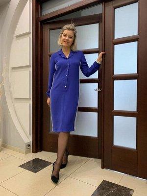 Платье Платье NOCHE MIO 1.072  Сезон: Осень-Зима Рост: 164  Стильное платье на кнопках с классическим воротником подойдёт как для особенного выхода, так и для повседневной носки.