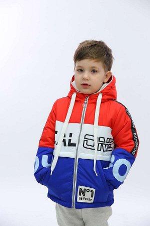 Бумер 52К11 Куртка для мальчиков, Бумер 52К11 желтый/бирюза  98-56-54, шт