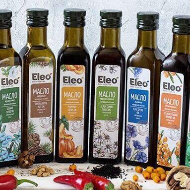 ✅Здоровое питание высокого качества — Масла холодного отжима Eleo — Диетические растительные масла