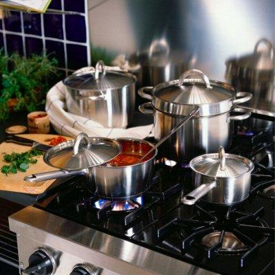 Товары для дома 🔷Красота в деталях 🔷 — Наборы посуды — Кастрюли
