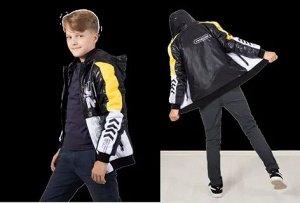 Мадрид 42К29 Куртка для мальчиков, Мадрид 42К29 черный 122-64-60, шт