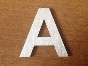 Буква в ассортименте 5 см