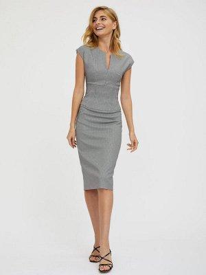 Платье с корсетным поясом