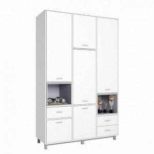 Шкаф трехсекционный Polini kids Mirum 2335