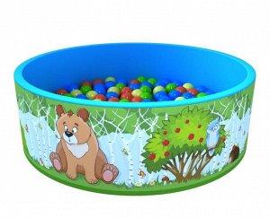 Romana Сухой бассейн 100 шариков 100*33 см, таффета
