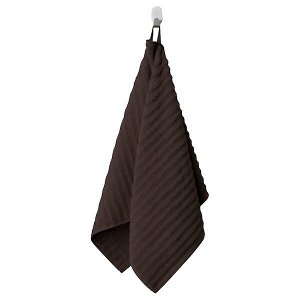 FLODALEN ФЛОДАРЕН Полотенце, темно-коричневый50x100 см