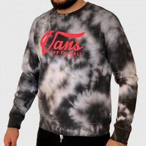 Эффектный мужской свитшот Vans – модный дизайн в нашумевшем стилей «Тай-дай» №127