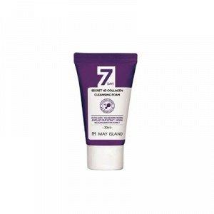 [Miniature] 7Days Secret 4D Collagen Cleansing Foam Очищающая пенка с 4 видами коллагена 30ml