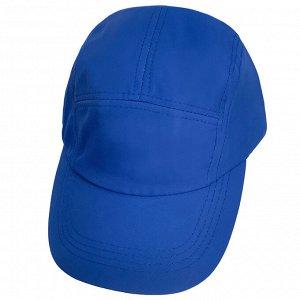 Ярко-синяя однотонная бейсболка  - модели ярких сочных цветов особенно популярны этим летом! №152