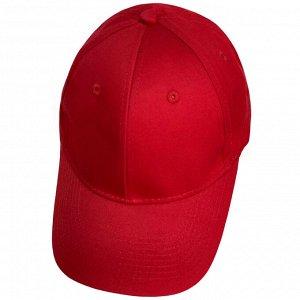 Модная бейсболка красная