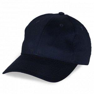 Промо бейсболка тёмно-синяя №4001