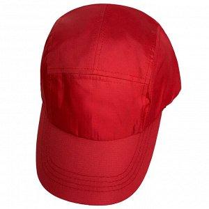 Модная летняя бейсболка (красная)  - сочный красный цвет особенно актуален на лето! №156