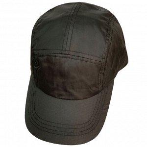 Чёрная кепка пятипанелька №151