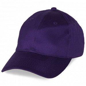 Фиолетовая промо-бейсболка №4028