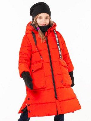 100506/1 (черный) Пальто для девочки