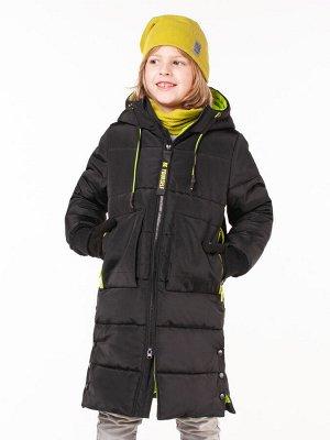 100521/1 (черный) Пальто для мальчика