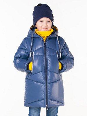 100524/2 (черный) Пальто для мальчика