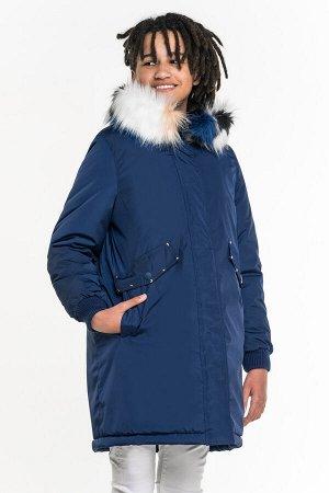 80845/2 (темно-синий) Куртка для девочки