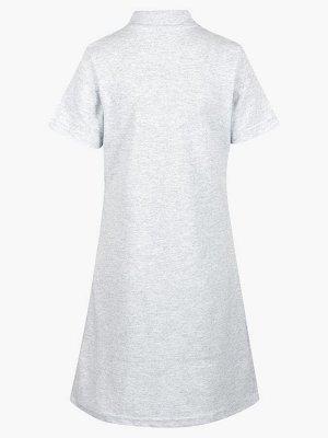 Платье трикотажное Поло А-силуэта