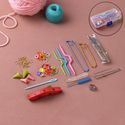 Швейная галантерея. Для рукодельниц. — Наборы для вязания — Шитье