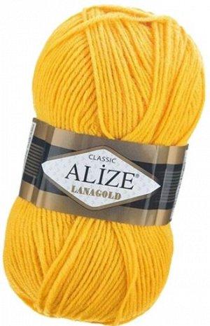 Пряжа для вязания Alize Lanagold Ализе Ланаголд цвет 216